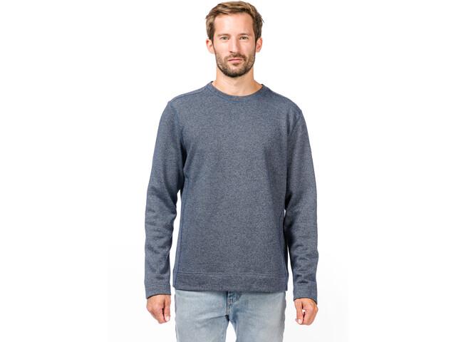 super.natural Vacation Knit Crew Pullover Men, dark avio melange